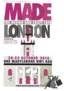 MADE London 20-23 October are again offering 2-4-1 entry. Just email your name and postal address to 241@madelondon.org by 14 October and a voucher will be sent for presentation at the door.